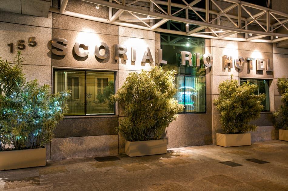 Entrada do Scorial Rio Hotel