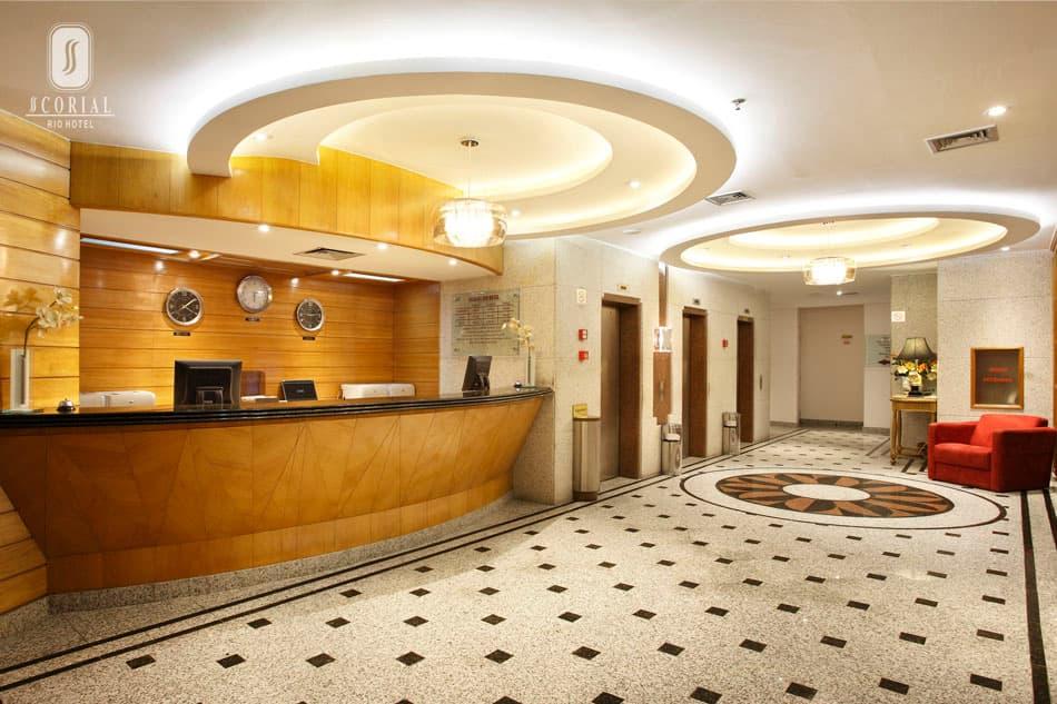 Recepção do Scorial Rio Hotel